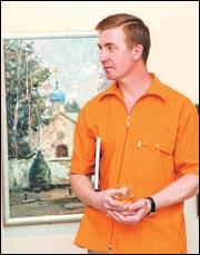 Василий Кукса — алтайский парижанин. Фото Владимира ПОЛЯКОВА