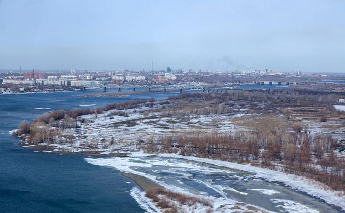 Северный магнитный полюс движется к Новосибирску