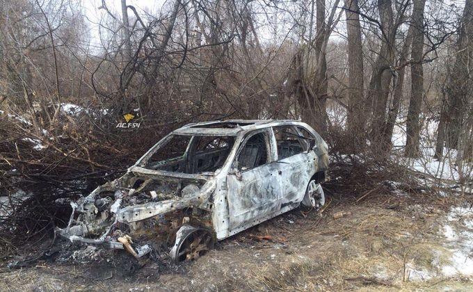 ВОрдынском районе два предпринимателя сгорели в«БМВ»