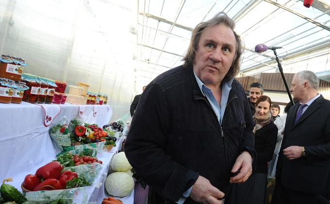 Жерар Депардье приехал в Новосибирск