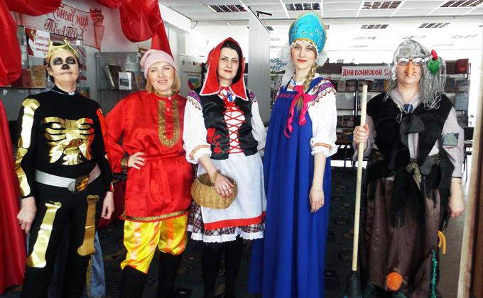 Кощей стал повелителем книжного царства в Татарске