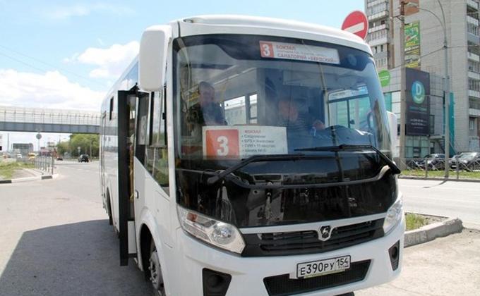 График автобуса №3 в Бердске синхронизируют с прибытием электричек