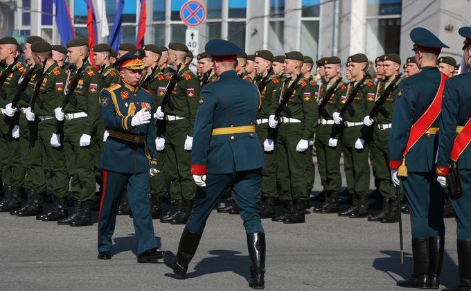 Парад Победы-2019 начался в Новосибирске