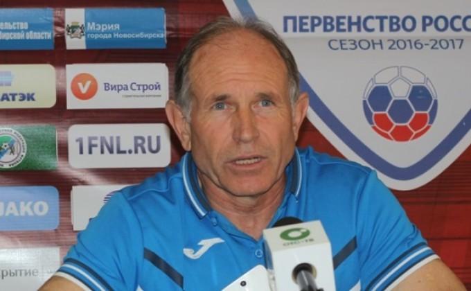 ФК «Сибирь» расстался с 2-мя тренерами