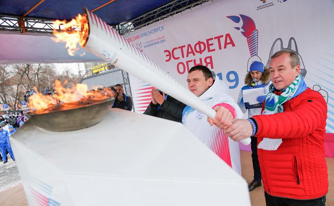 Улицы Новосибирска перекроют из-за эстафеты огня универсиады-2019