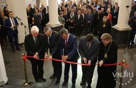 Парк-музей  «Россия – Моя история» торжественно открыли в Новосибирске