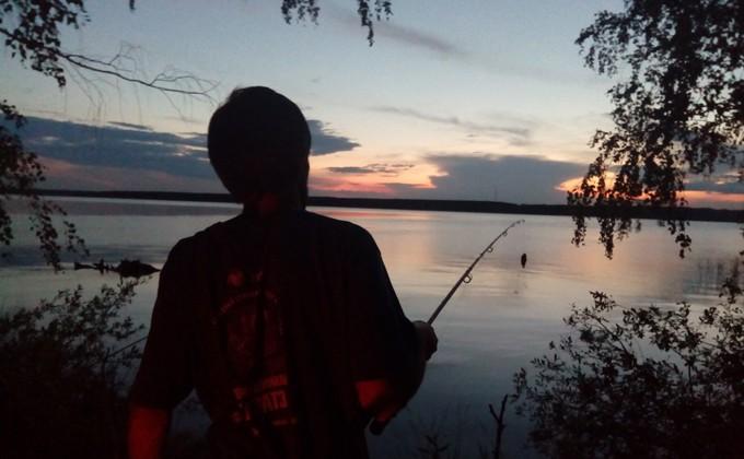 рыбалка недалеко от новосибирска