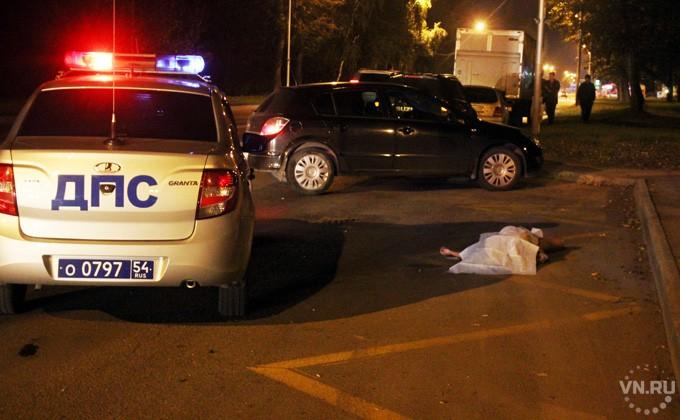 Шофёр фуры насмерть сбил женщину вНовосибирске
