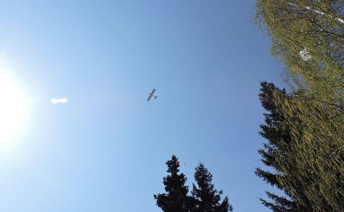 В небе над Евсино кружил Пайпер