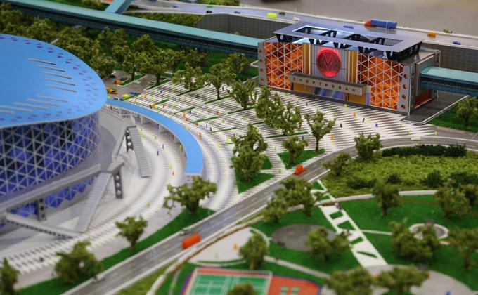 Онлайн-трансляцию строительства метро «Спортивная» и ЛДС хотят вести в Новосибирске