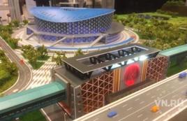 Макет станции метро «Спортивная» и нового ЛДС представили в Новосибирске