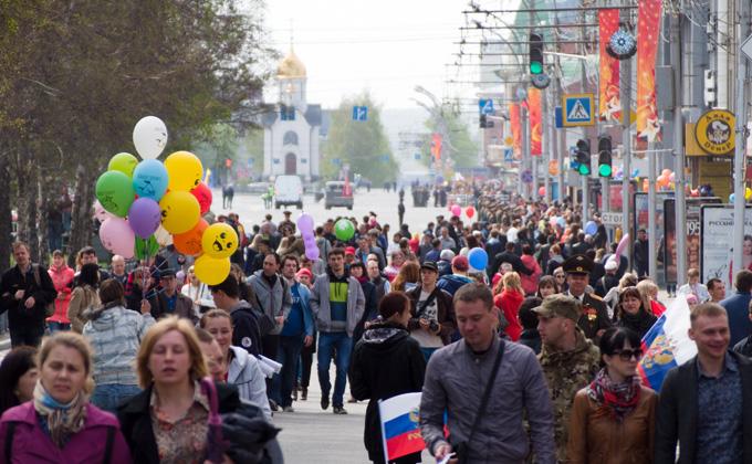 Погода на Дни Победы в Новосибирске за 74 года – от -6°C до +29°C