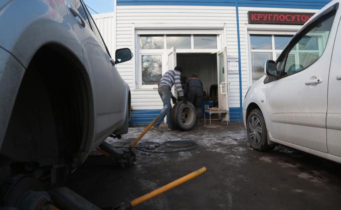 Где нельзя хранить шины в Новосибирске