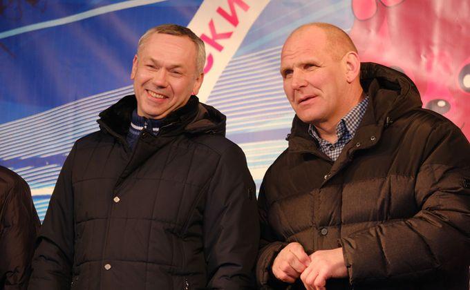 Удачи и честной победы пожелал  Андрей Травников спортсменам в финале Зимних сельских спортивных игр