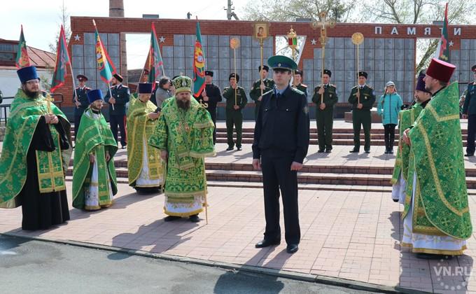 Пограничники с казаками прошли Крестным ходом по Карасуку