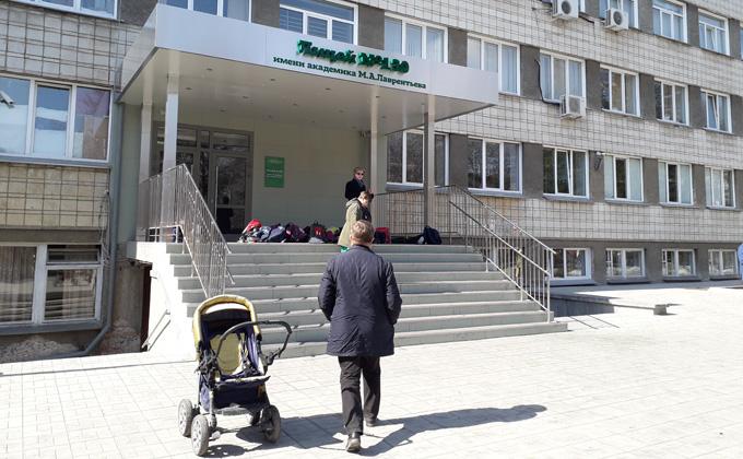 Пристройку к лицею 130 начали возводить в Академгородке