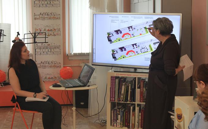 Дизайн-проект Криводановской библиотеки прошел защиту