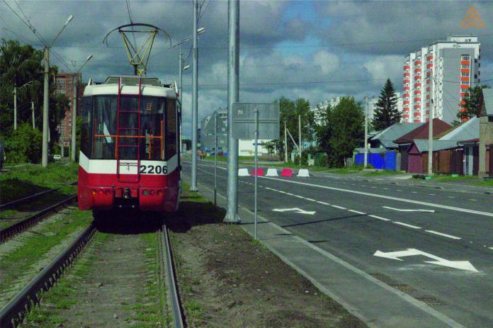 На улице Титова построят новый четырехполосный участок автодороги