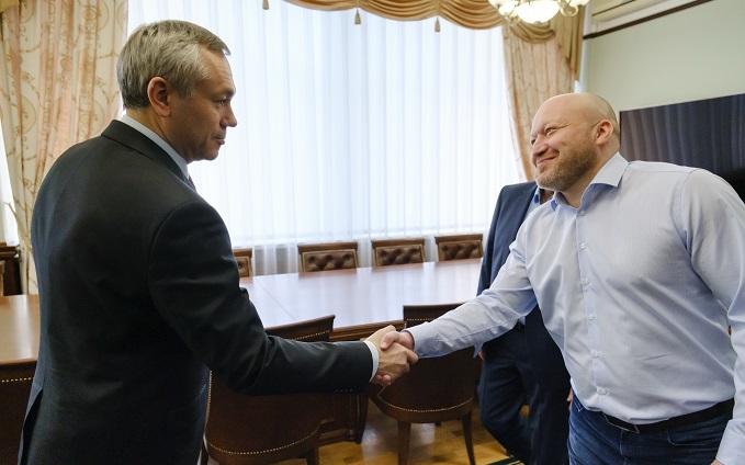 Губернатор поставил задачу на сезон новому главному тренеру хоккейной «Сибири»