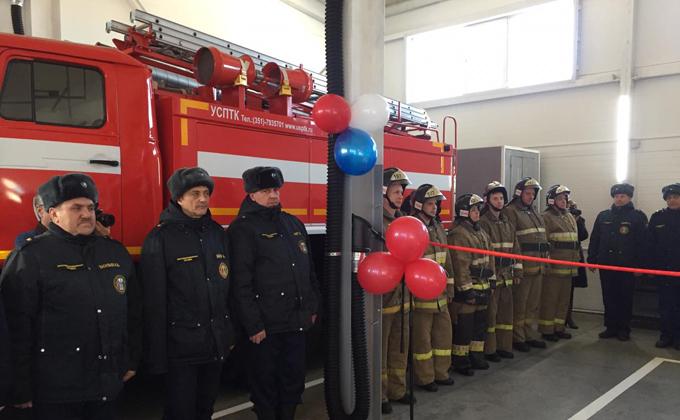 Новый пожарный пост открылся в Мошково
