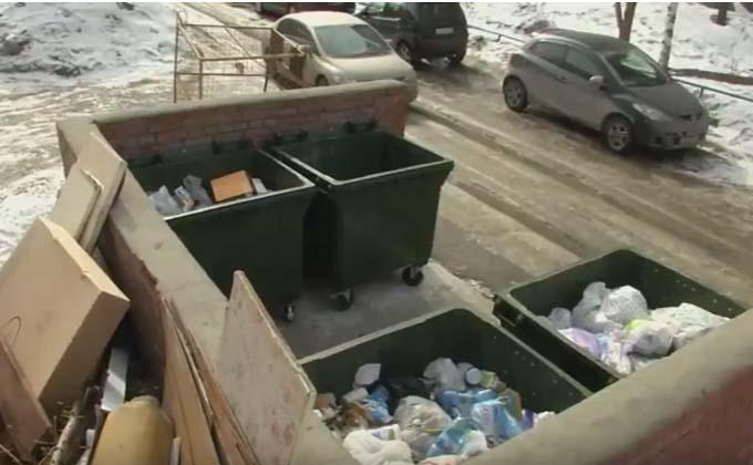 Тариф на вывоз мусора могут уменьшить на треть
