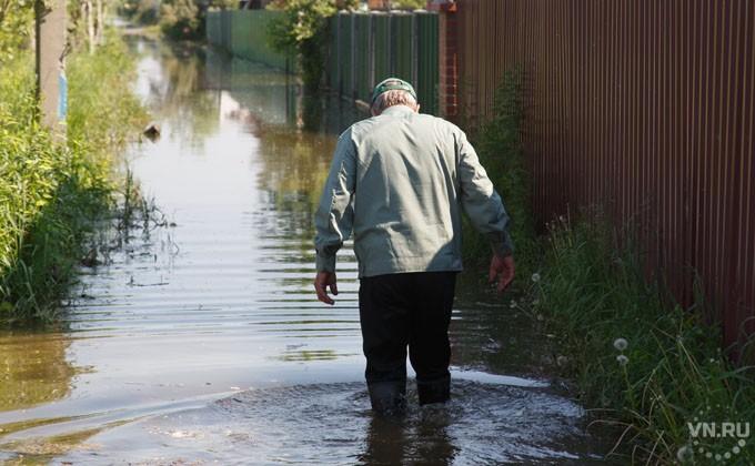 ВНовосибирске продолжается подъем уровня воды вОби