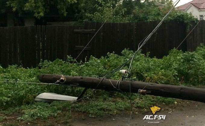 Новосибирцы позавидовали урагану в Карасуке