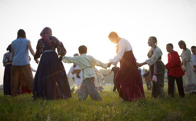 Сплести лапти и станцевать лезгинку можно на фестивале «Многонациональная Россия»
