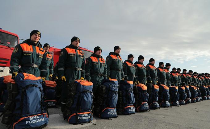 Андрей Травников проверил готовность МЧС к лесным пожарам