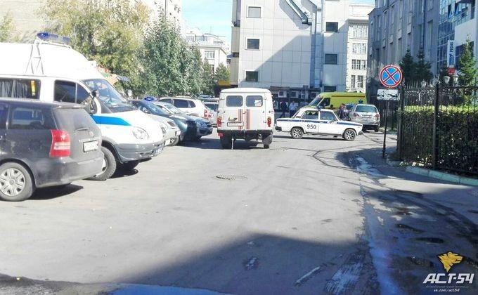 Вцентре Новосибирска отыскали ржавый снаряд