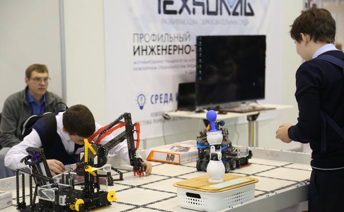 «Учебная Сибирь-2019»: Олимпиада НТИ, роботы и дождевые черви
