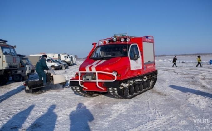 ВНовосибирской области работники МЧС спасли пассажиров автобуса отмороза