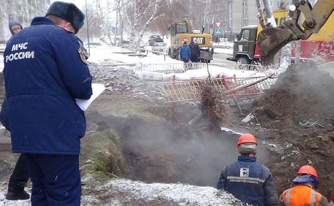 ВИскитиме коммунальная авария оставила без тепла ряд объектов
