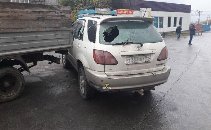 Нацгвардейцы вовремя задержания подозреваемых обстреляли машину проезжавшего мимо новосибирца