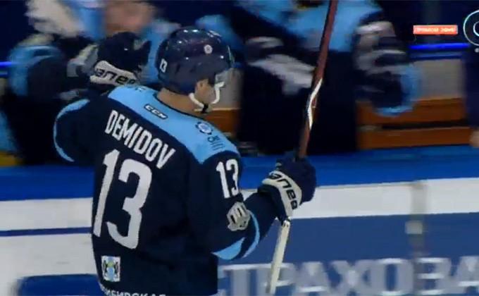 «Сибирь» победила омский «Авангард» на собственной площадке— Хоккей