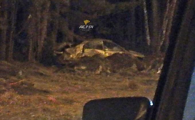 «Хонда» перевернулась наБердском шоссе: умер тридцатидевятилетний шофёр