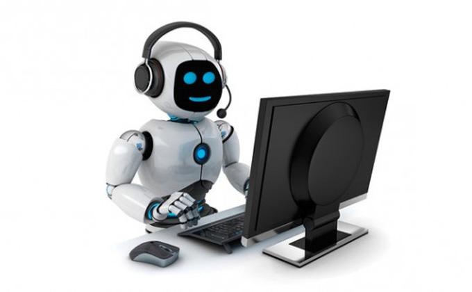 Робот Николай начал принимать звонки в МФЦ