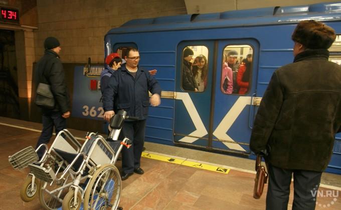 Жителя Новосибирска, бросившегося под поезд вметро, успели эвакуировать