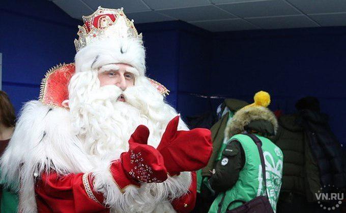 Главный Дед Мороз научил ламберсексуалов ухаживать за бородой