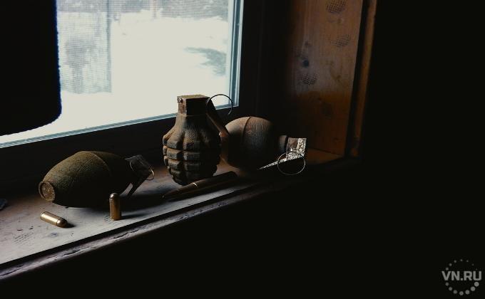 ВНовосибирске неизвестный подбросил муляж гранаты вподъезд жилого дома