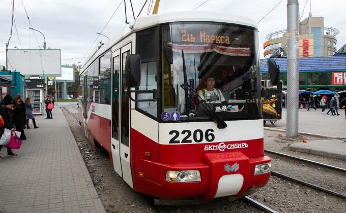 Новые трамваи купит Новосибирск за счет областного бюджета