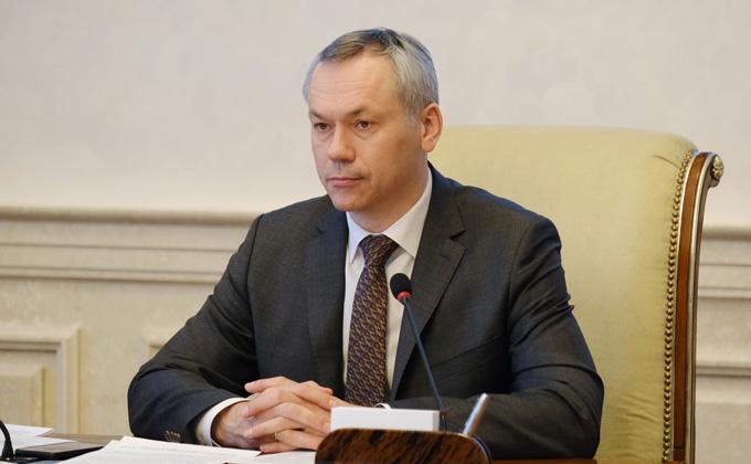 Губернатор Травников дал старт подготовке празднования Великой Победы