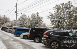 40,5% автомобилистов Новосибирска против платных парковок
