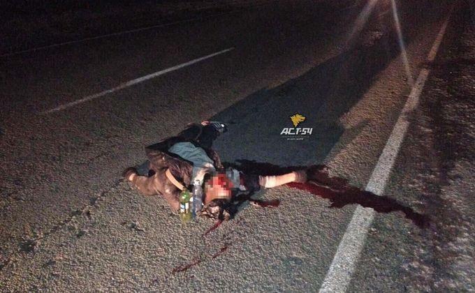Шофёр «Тойтоы» насмерть сбил мужчину натрассе вНовосибирской области и исчез