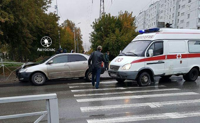 Ребенок ипенсионерка попали под колеса в 2-х ДТП вНовосибирске
