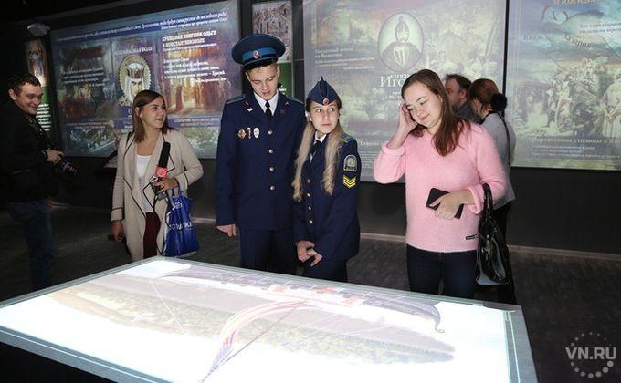Парк-музей «Россия – Моя история» в Новосибирске заработал бесплатно
