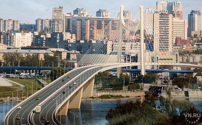 СОктябрьского моста вНовосибирске упала девушка