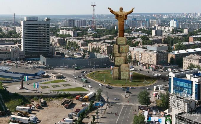 Памятник Церетели могут установить вНовосибирске
