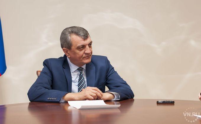 Сергей Меняйло призвал начать строительство свежей  ледовой арены вНовосибирске