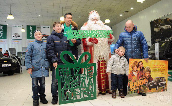 Новогодний волшебник: когда вТюмень приедет дедушка  Мороз изВеликого Устюга